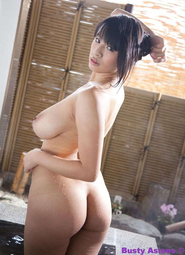 Hana Haruna Getting Clean for Busty Asians - Curvy Erotic