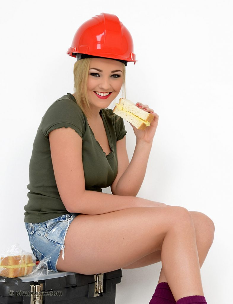 Jodie Gasson Busty Construction PinupWOW