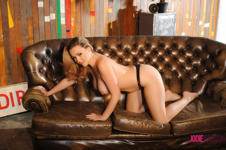 Jodie Gasson Sexy Lingerie Strip