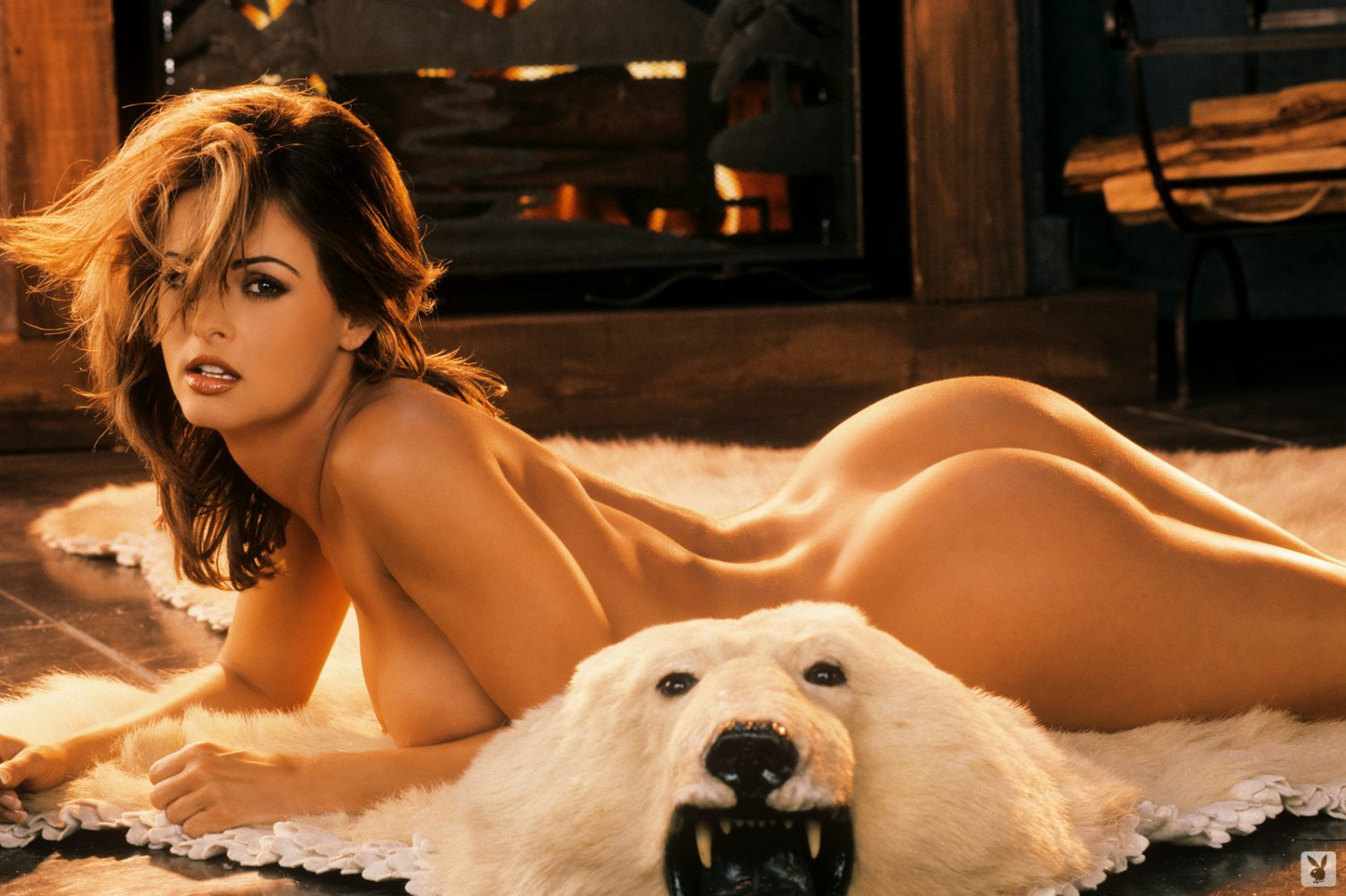 Karen McDougal Perfect Winter Playboy Playmate