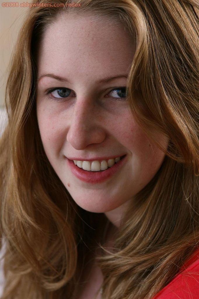 Chloe Natural Redhead Pink Panties Abby Winters