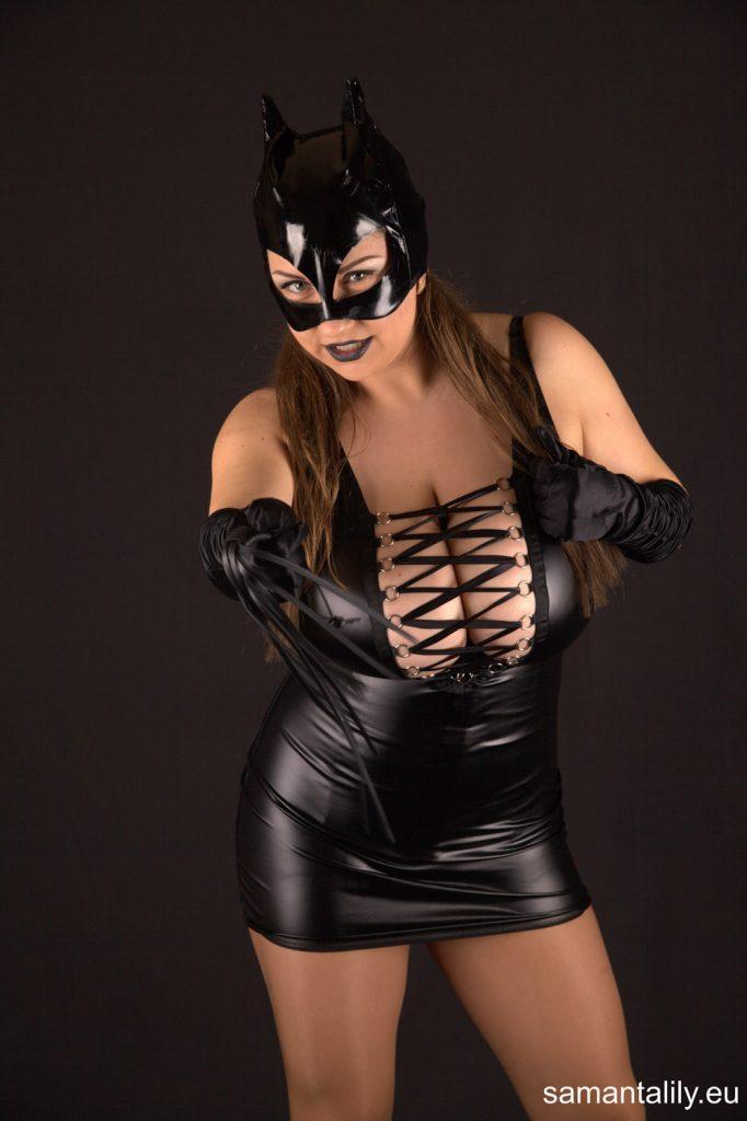 Samanta Lily Masked Mistress