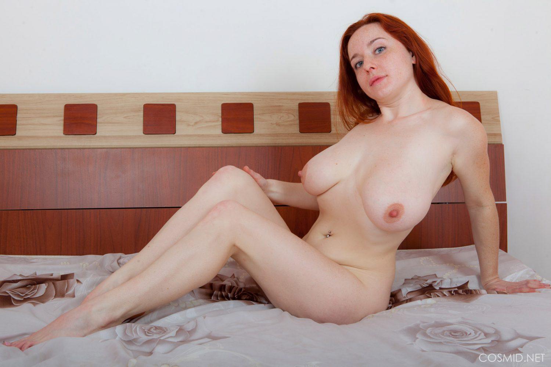 Sara Nikol Busty and Flirty for Cosmid