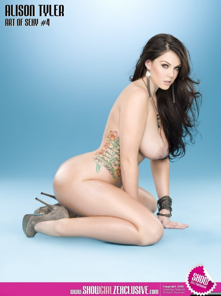 Alison Tyler Art of Sexy for Showgirlz Exclusive