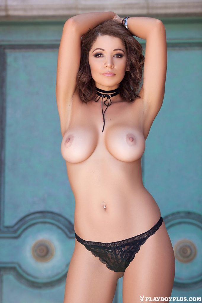 Ali Rose Welcome Home for Playboy