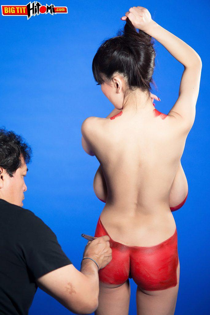 Hitomi Tanaka Artfully Naked