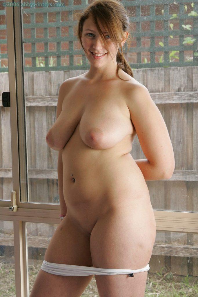 Antonia Curvy Nude Aussie Abby Winters