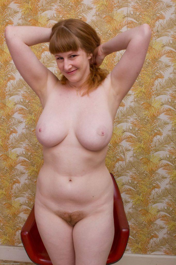 Chloe Natural Busty Redhead ATK Hairy