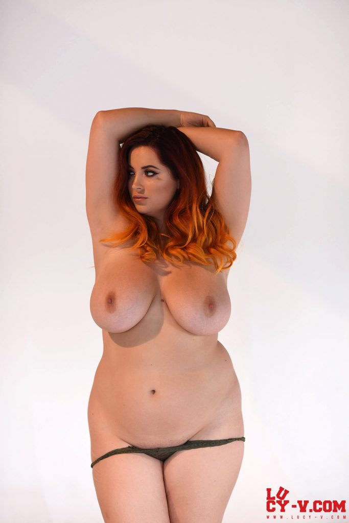 Lucy Vixen Little Panties Thick Curves 11
