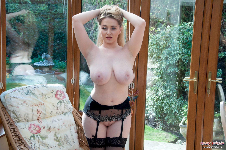 Rachel C Taking Off Her Lingerie Busty Britain 9