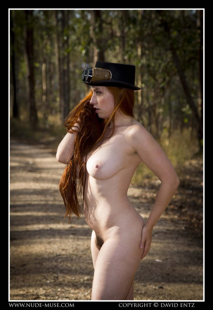 Titania Steam Punk Nude Muse
