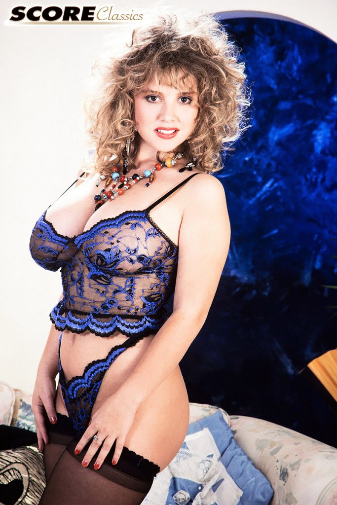 Tracey busty blonde stockings consider