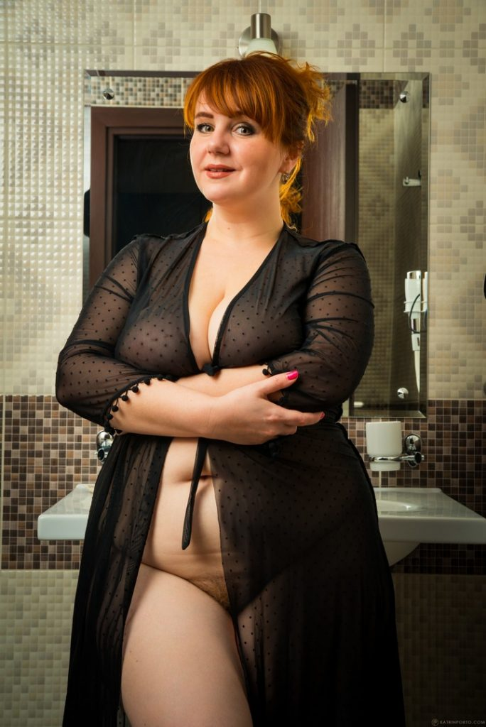 Katrin Porto Black See Thru Robe