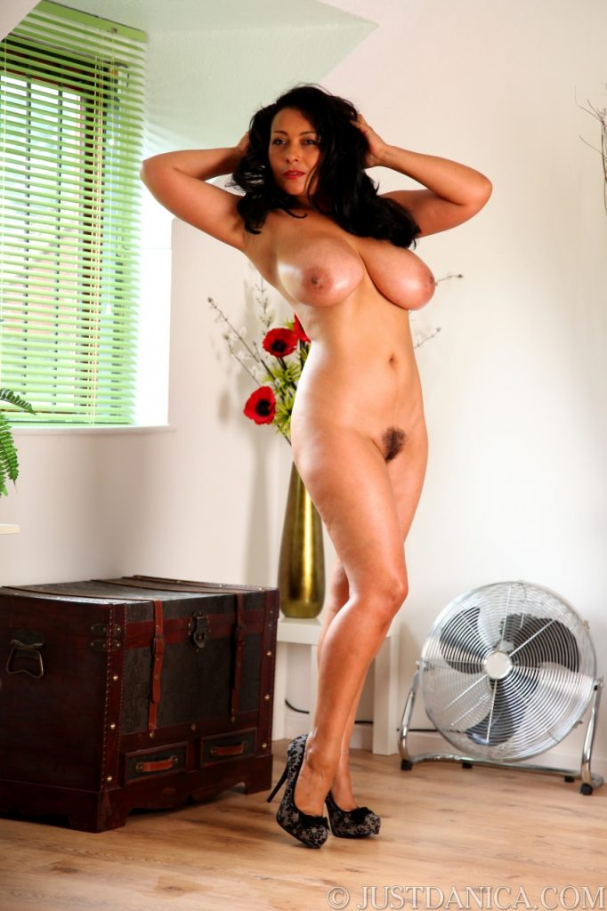 Just Danica Naked In High Heels