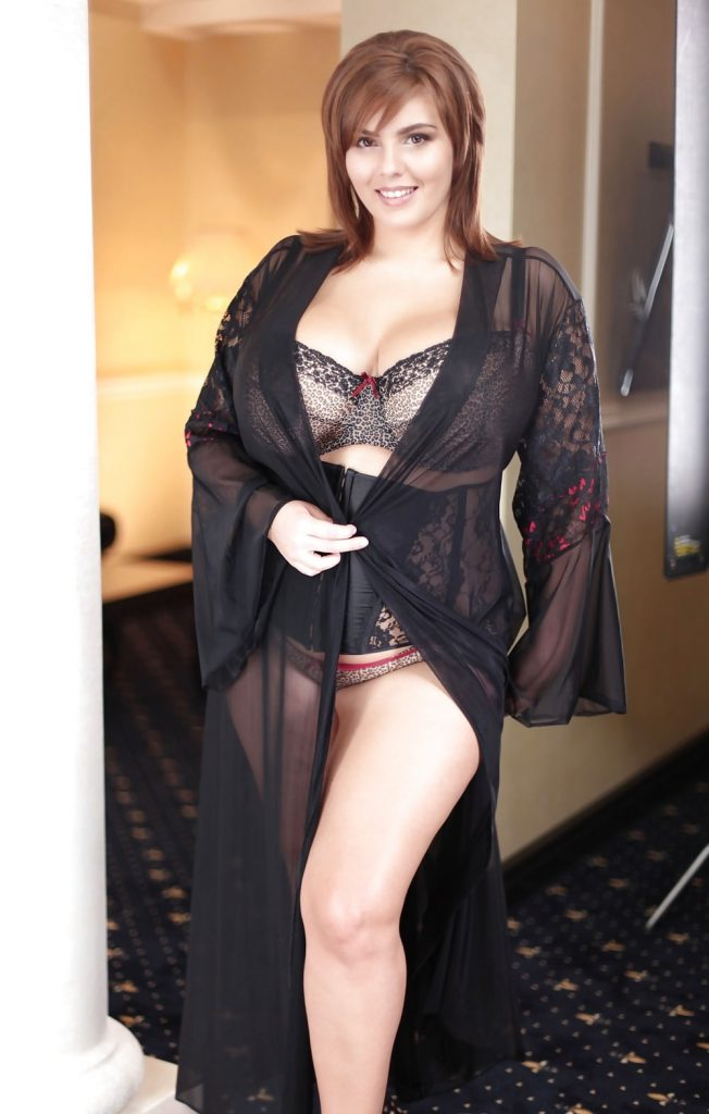 Xenia Wood Robe and Lingerie