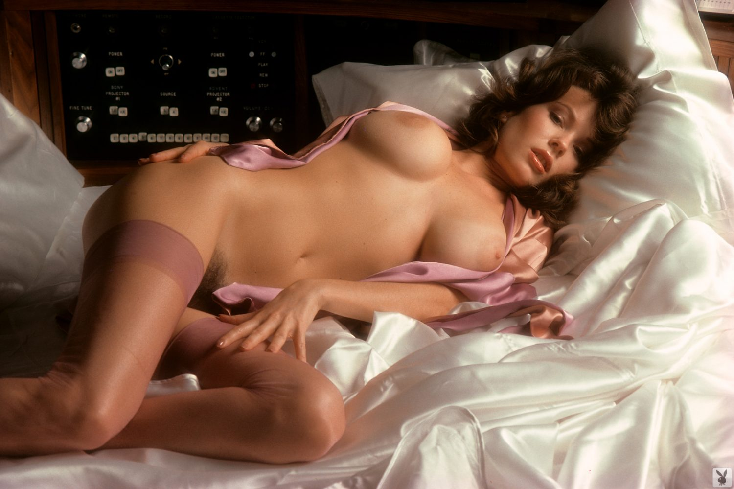 Candy Loving Nude Playboy