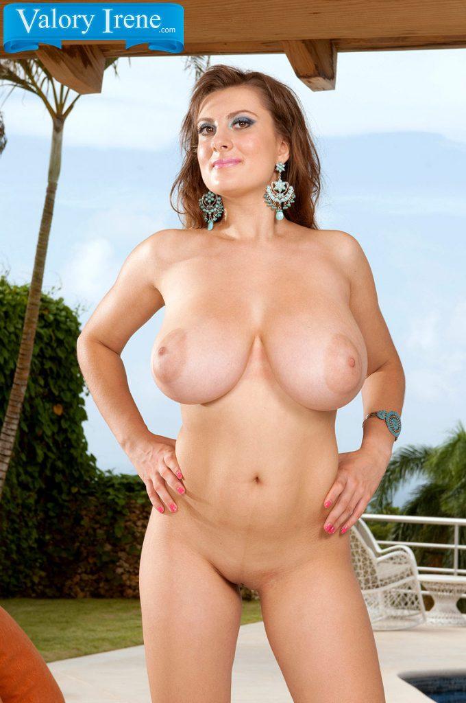 Valory Irene Nude Lounging