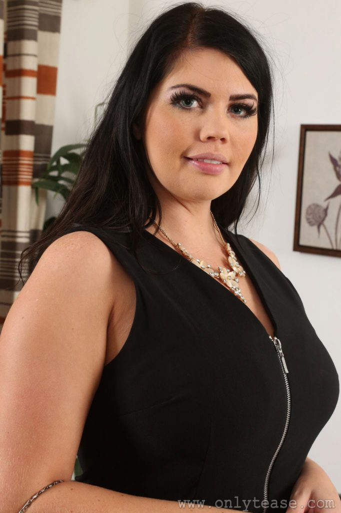 Terri Lou Black Dress Curve Only Tease