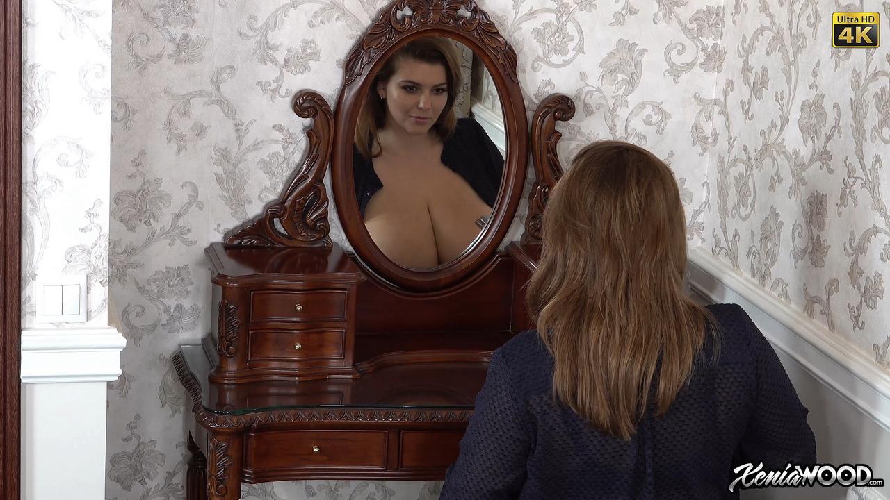 Xenia Wood Open Blouse