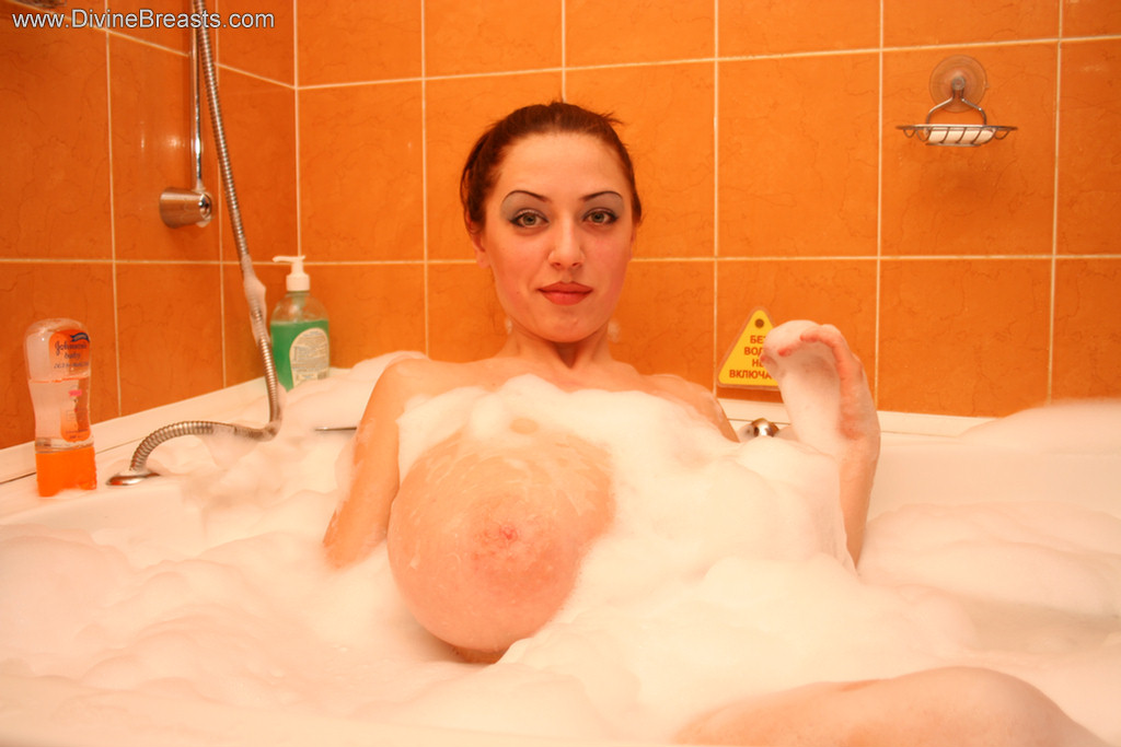 Anya Zenkova Bubble Bath Divine Breasts