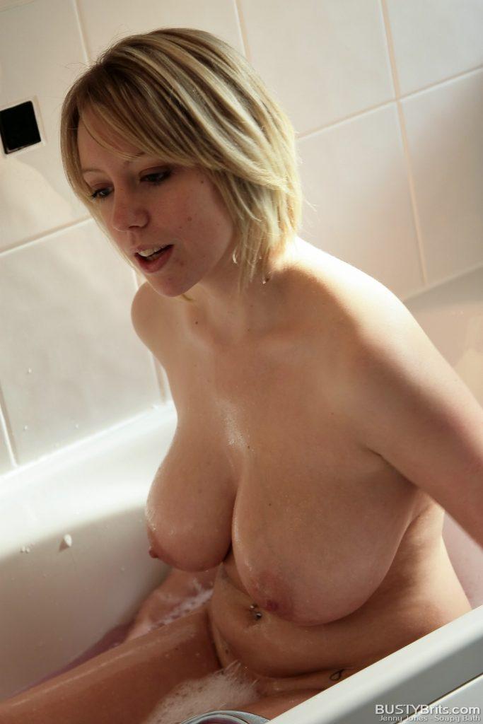 Jenny Jones Nude Soapy Bath