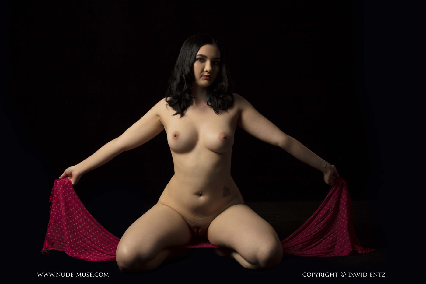 Nora Rose Scarf Nude Muse