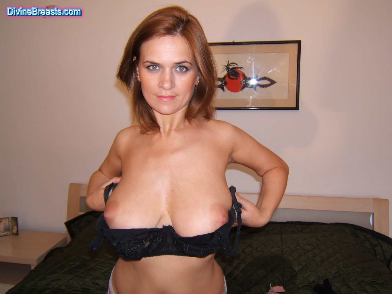 Ellen Trying On Bras Divine Breasts