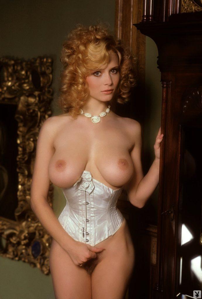 Kimberly Mcarthur January 1982 Playboy Playmate Curvy Erotic