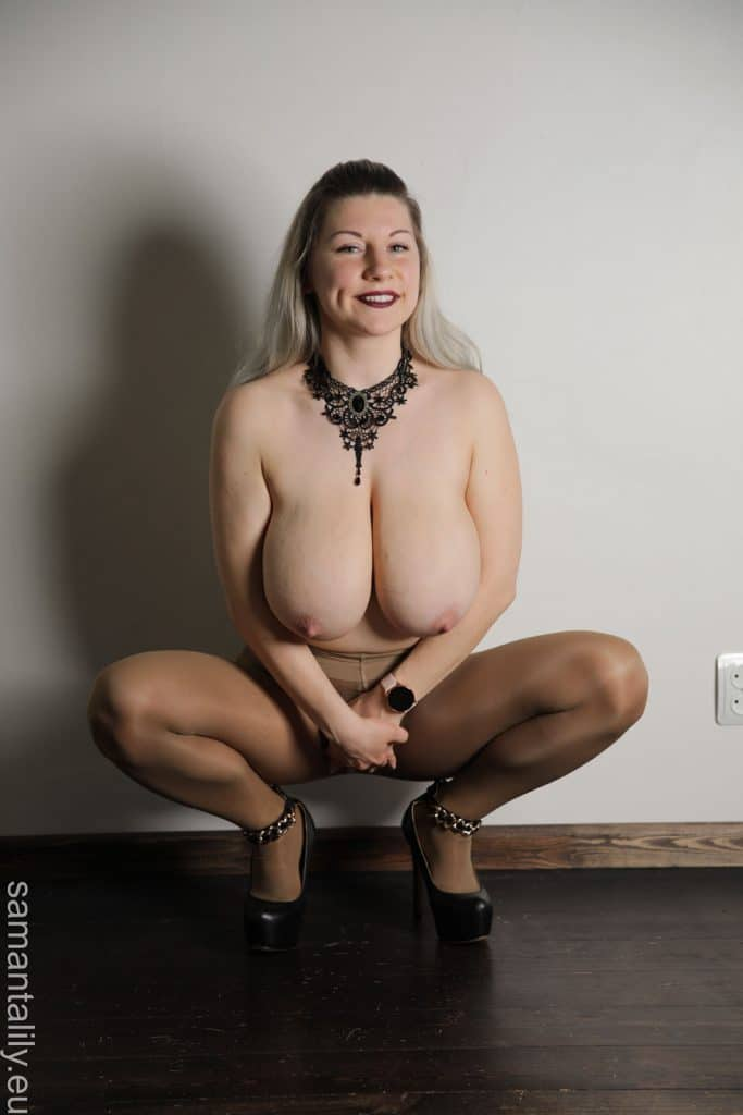 Samanta Lily Pantyhose Fetish