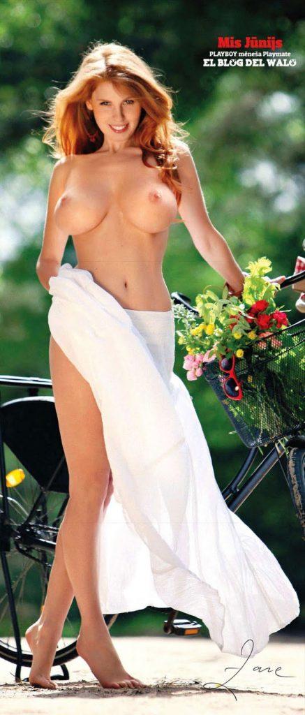 Zane Ezerina Latvian Playboy Playmate