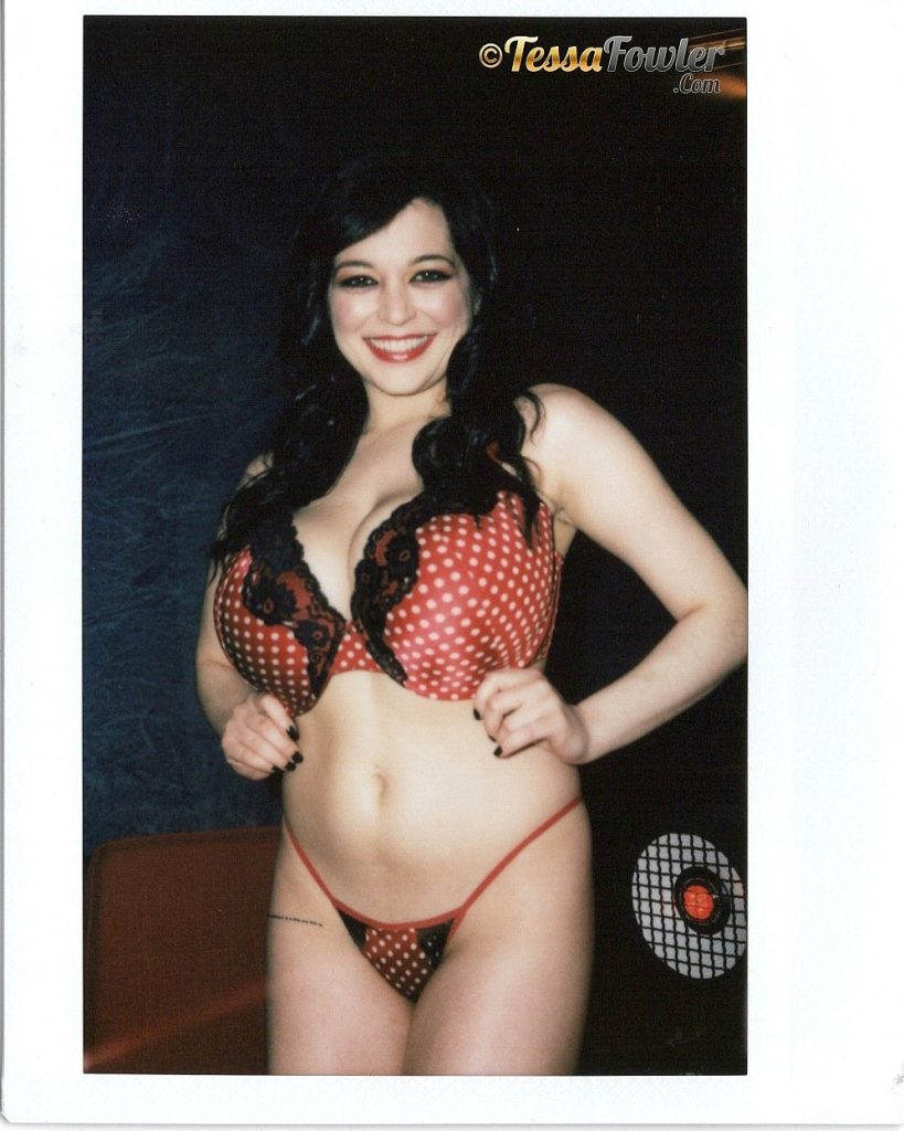 Tessa Fowler Sexy Polaroids