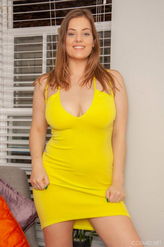 Lottie Rose Yellow Dress Cosmid